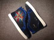 Louboutin Rhinestone Sneakers CLHT577