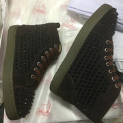 Louboutin High Top Sneakers CLHT552
