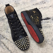 Louboutin High Top Sneakers CLHT576