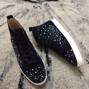 Louboutin Rhinestone Sneakers CLHT581