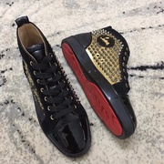 Louboutin High Top Sneakers CLHT555