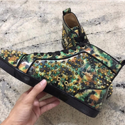 Louboutin High Top Sneakers CLHT556