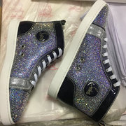 Louboutin Rhinestone Sneakers CLHT582