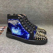 Louboutin High Top Sneakers CLHT580