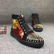 Louboutin High Top Sneakers CLHT581