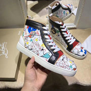 Louboutin High Top Sneakers CLHT582