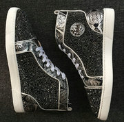 Louboutin Rhinestone Sneakers CLHT586