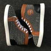Louboutin High Top Sneakers CLHT567