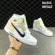 Off White x AIR JORDAN 1 Men&Women Shoes mOW040