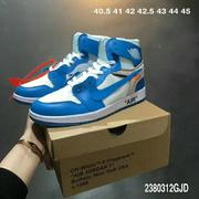 Off White x AIR JORDAN 1 Men&Women Shoes mOW041