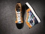 Louboutin High Top Sneakers CLHT589